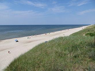 Nida, Lithuania - Beach and dunes near Nida (2013)