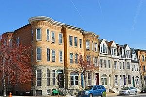 Highlandtown, Baltimore - Northeast corner of Baltimore Street and Luzerne Avenue