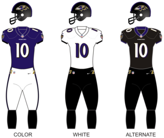 Baltimore Ravens National Football League franchise in Baltimore, Maryland