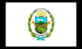 Departments of El Salvador - Image: Bandera del Departamento de La Paz ES