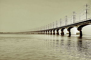 Bangabandhu Bridge - Image: Bangabandhu Bridge (Jamuna Multi purpose Bridge)