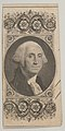 Banknote motif- Portrait on George Washington in a decorative panel MET DP837946.jpg