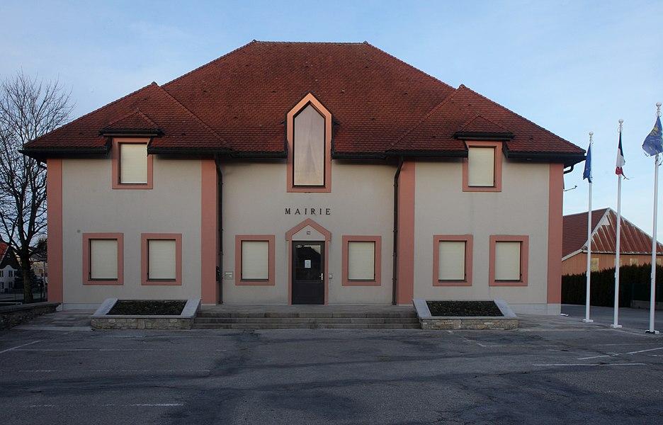 Mairie de Bannans (Doubs).