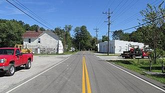 Bantam, Ohio - Bantam Road