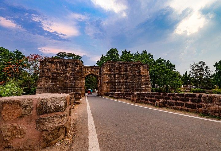 Barabati Fort Cuttack entrance