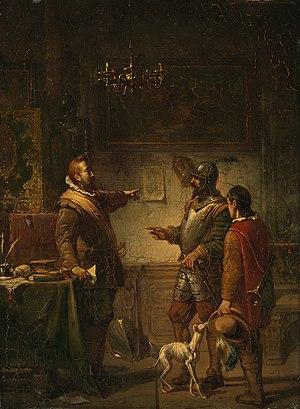 Barend Wijnveld - Anno 1596. Het dappere optreden van Paulus Bax als bevelhebber van Bergen op Zoom - SA 5021 - Amsterdam Museum