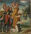 Bartholomäus Bruyn d. Ä. - Cyriakus-Folge, Tod des hl. Cyriakus - WAF 107 F - Bavarian State Painting Collections.jpg