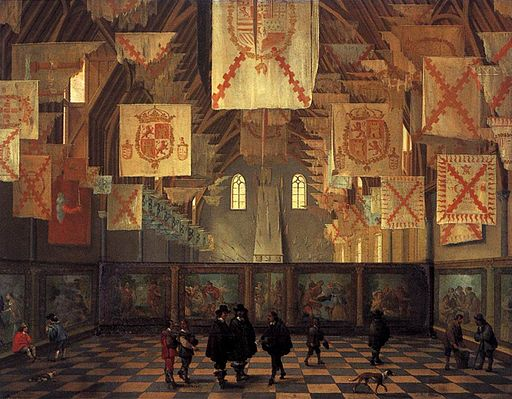 Bartholomeus van Bassen - The Great Hall of the Binnenhof in The Hague - WGA6277