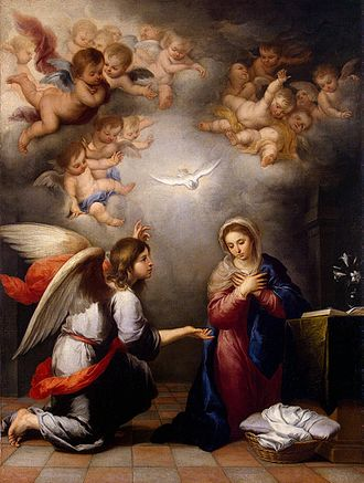 Gospel of Luke - Annunciation (Murillo)