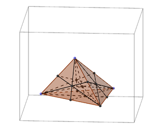 Barycentric coordinate system coordinate system in which the location of a point of a simplex (a triangle, tetrahedron, etc.) is specified as the center of mass, or barycenter, of usually unequal masses placed at its vertices