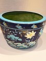 Basin Ming Dynasty Late 15th century Porcelaneous ware with cloisonne-style decoration (1141632507).jpg