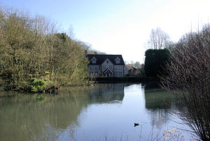 Medway watermills (middle tributaries) - Basted Mill Pond