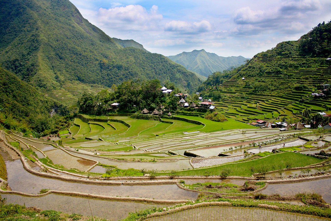 File batad rice terraces in wikimedia commons for What are terraces