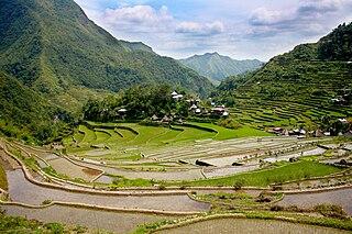 Ifugao Province in Cordillera Administrative Region, Philippines