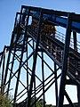 Batman The Ride Backwards at Six Flags Magic Mountain (13207927793).jpg
