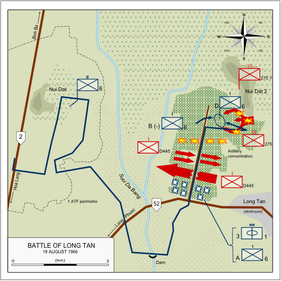 Battle of Long Tan 18 August 1966