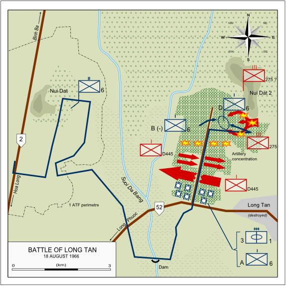 Battle of Long Tan 18 August 1966
