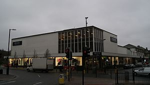 Beales (department store) - Beales in Harrogate in 2013.  This branch closed in 2014 and was demolished in 2015.
