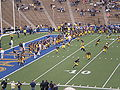 Bears on field pregame at EWU at Cal 2009-09-12 1.JPG