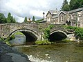 Beddgelert - The bridge over the Nant Colwyn - geograph.org.uk - 1617723.jpg