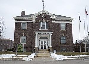 Belding, Michigan - Belding City Hall in January 2015