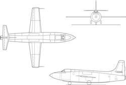 Bell X-1A line drawing.png