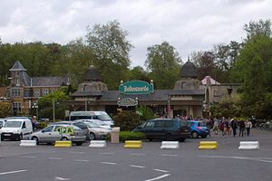 Bellewaerde - Entrance to amusement park
