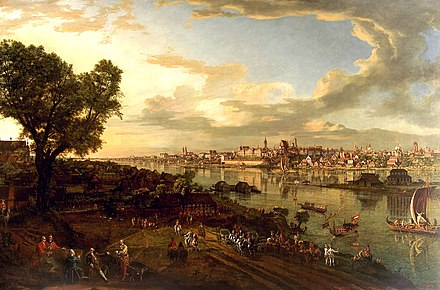 Le panorama de Varsovie de Bernardo Belotto, 1770 - Pologne