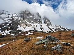Below the Chaukhi Mountain.jpg