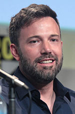 Foto de Ben Affleck ĉe la 2015-datita San Diego Comic-Con International.