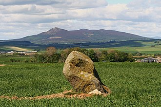 Battle of Harlaw - Image: Bennachie from the east