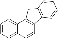 Chemical structure of benzo[a]fluorene