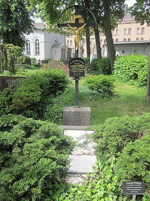 Archduke Leopold Ferdinand of Austria - Grave of Leopold Wölfling