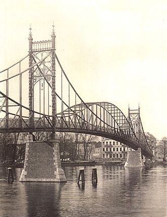 Oberschöneweide - Image: Berlin Kaisersteg Oberschoeneweide Zf B 1900