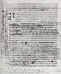 Berliozs manuscript of first page of Symphonie Fantastique.jpg