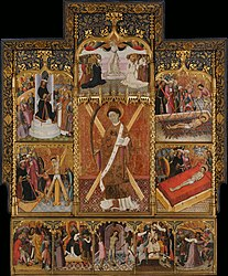 Bernat Martorell: Altarpiece of Saint Vincent