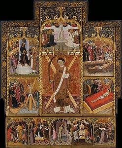 Bernat Martorell - Altarpiece of Saint Vincent - Google Art Project.jpg