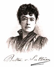 Image result for bertha von suttner
