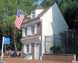 Flag Day (United States) - The Betsy Ross House, Philadelphia