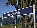 Bexleyheath station signage.JPG
