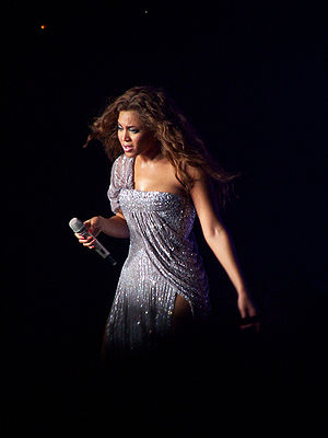 Beyonce - Concert in Barcelona in 2007