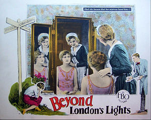 Beyond London Lights - Lobby card