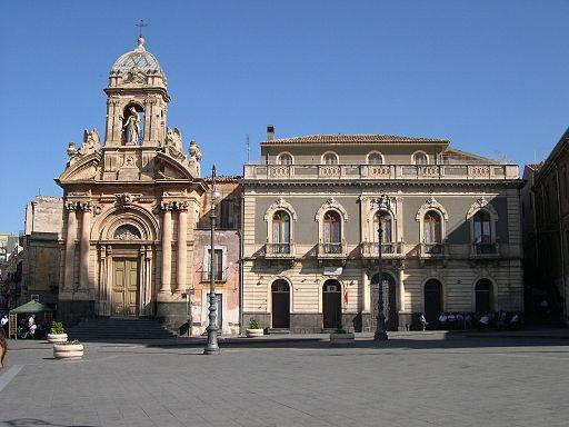 Biancavilla chiesa del Rosario