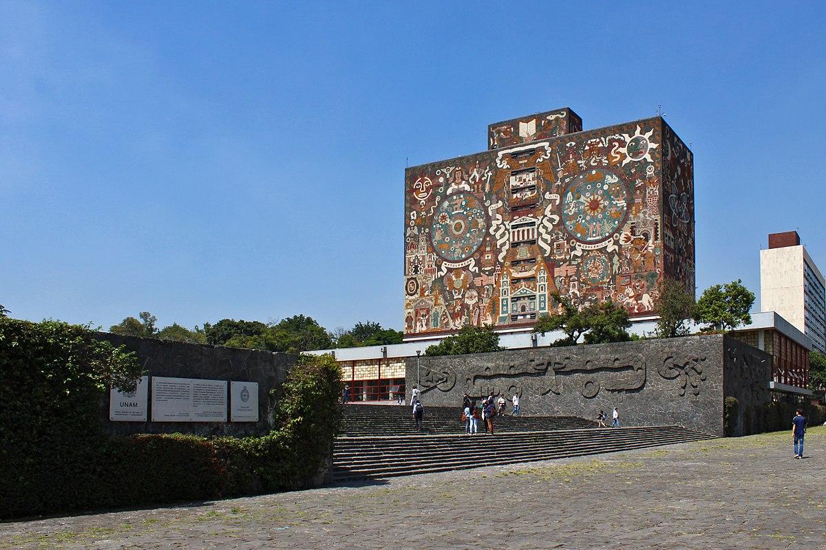 Biblioteca Central (UNAM) - Wikipedia, la enciclopedia libre