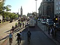 Bicycle protest on the A302 Westminster Bridge Road - geograph.org.uk - 1510677.jpg