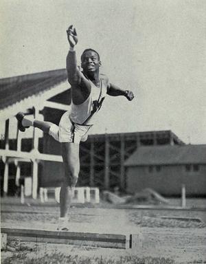 William Watson (decathlete) - Watson from 1938 Michiganensian