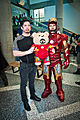 Big Wow 2013 - Tony Stark, Teddy Stark & Iron Man (8845872662).jpg