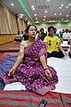 Bijaya Chatterjee in Kapalabhati - International Day of Yoga Celebration - NCSM - Kolkata 2015-06-21 7433.JPG