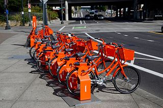 description of pedal transport in the largest city in Oregon