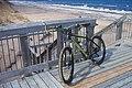 Biking the frozen beach, PEI National Park, Brackley Beach (33546251718).jpg